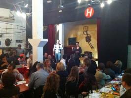 Rafel presented Perafita's wines
